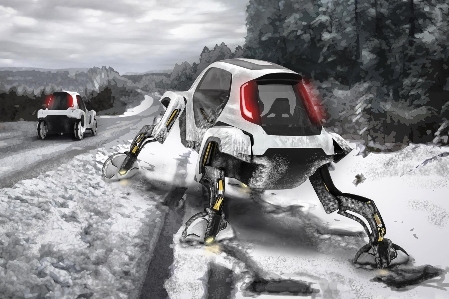 Elevate - Hyundai's walking concept car