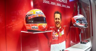 Ferrari's Michael 50 Schumacher exhibition
