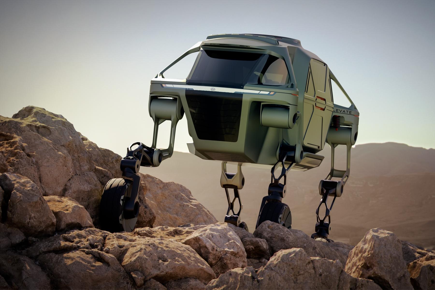 Hyundai unleashes walking concept car