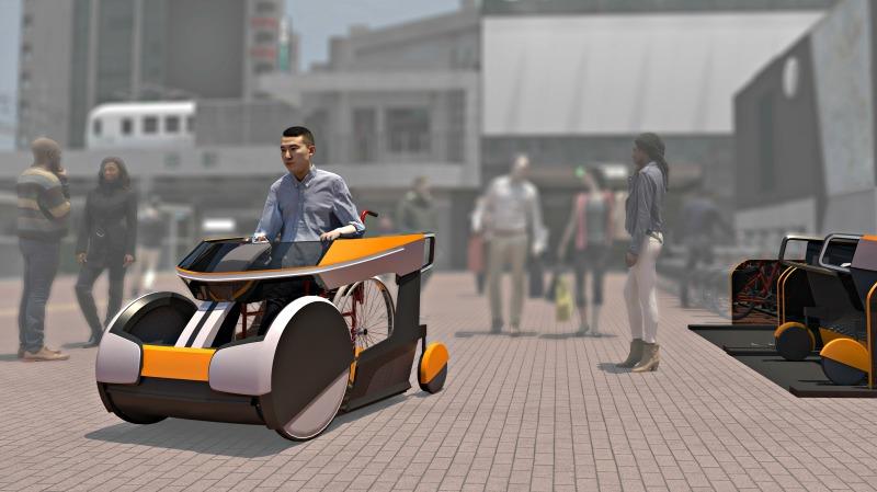 Italdesign - Moby wheelchair service