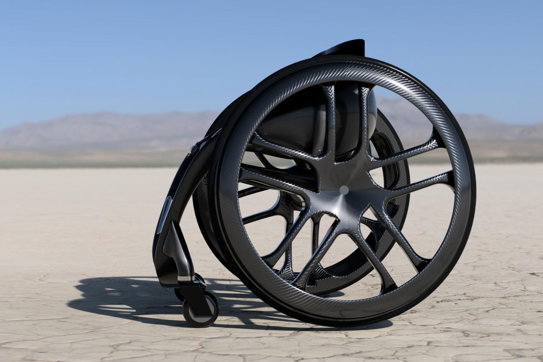 Phoenix Instinct wheelchair concept